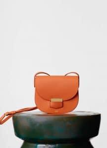 Celine Orange Trotteur Small Bag