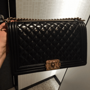 Chanel Black Paris-Salzburg Boy Bag 2