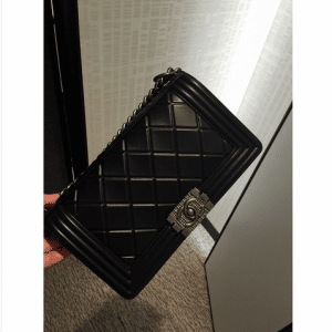 Chanel Black Paris-Salzburg Boy Bag 5
