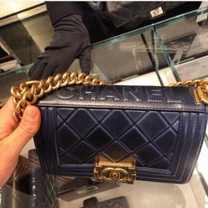 Chanel Black Paris-Salzburg Boy Bag 6