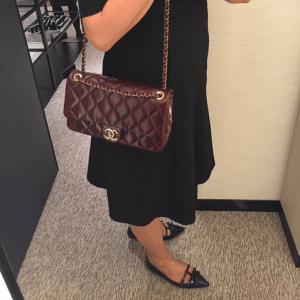 Chanel Burgundy Salburg Flap 2