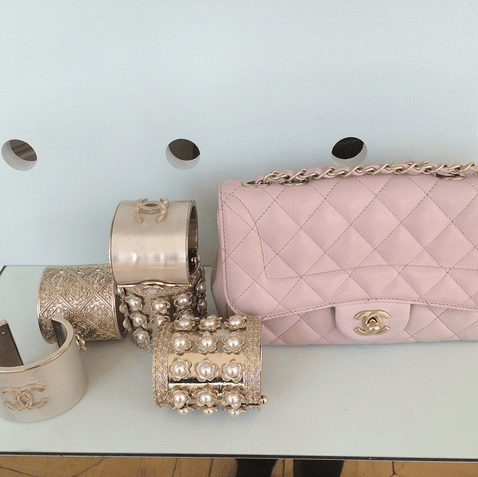 Chanel Pink Quilted Flap Bag - Cruise 2016