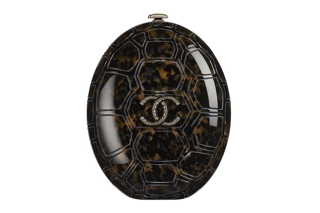 Chanel Tortoise Plexiglass Clutch Bag - Cruise 2016