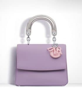 Dior Lilac/Pale Pink/Silver Be Dior Mini Flap Bag