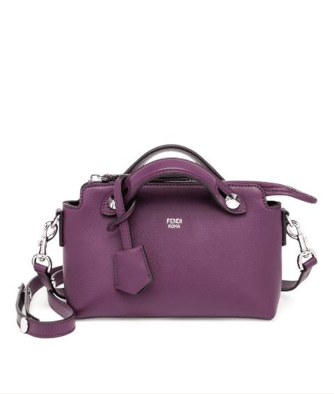 Fendi Aubergine By The Way Mini Bag