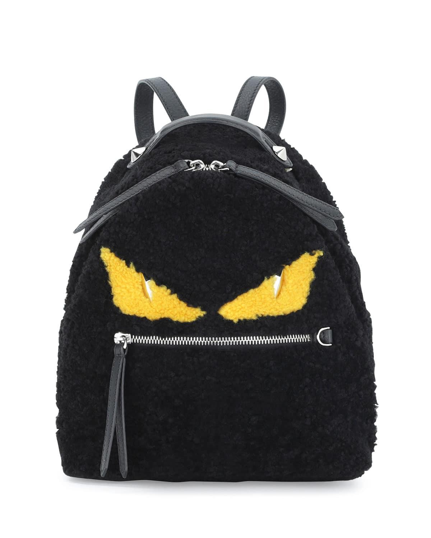 0577b002f0 Fendi monster mini backpack
