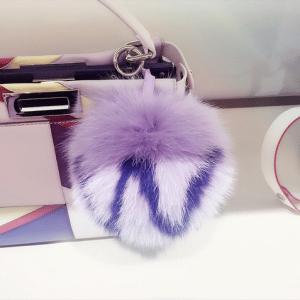 Fendi Purple N ABCharm PomPom
