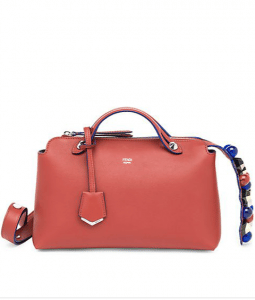 Fendi Red Studded By The Way Small Bag