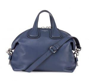 Givenchy Dark Blue New Nightingale Medium Bag