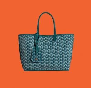 Goyard Green Anjou Reversible Tote Bag