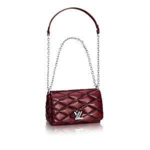 Louis Vuitton Bordeaux Go-14 Malletage PM Bag