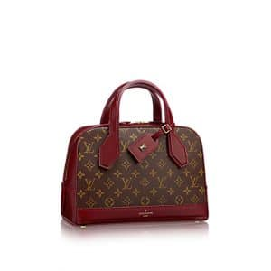 Louis Vuitton Bordeaux Monogram Canvas Dora PM Bag