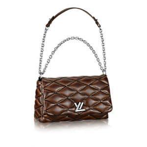 Louis Vuitton Brown Go-14 Malletage MM Bag