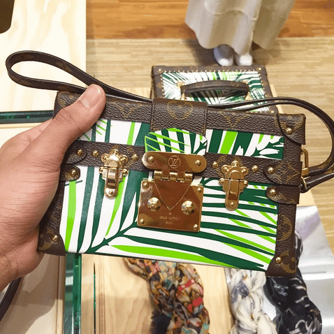 Louis Vuitton Petite-Mall with Palm Leaves