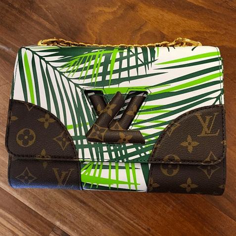Louis Vuitton Twist with Palm Leaves