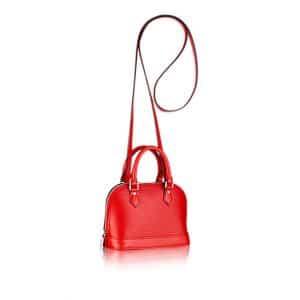 Louis Vuitton Epi Alma Nano Bag