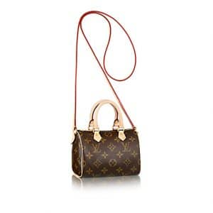 Louis Vuitton Monogram Canvas Speedy Nano Bag