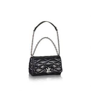 Louis Vuitton Noir Go-14 Malletage PM Bag