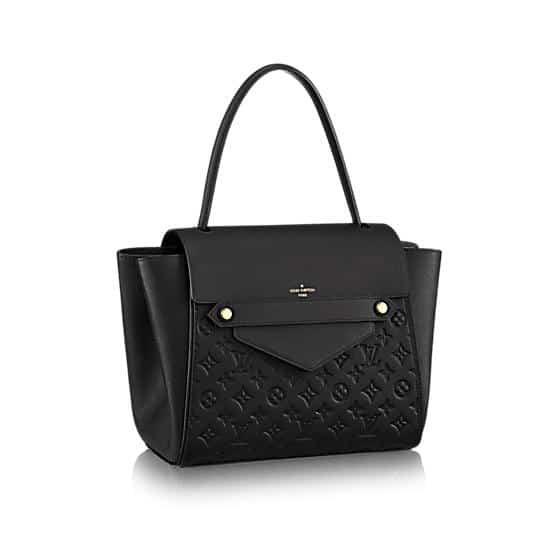 Louis Vuitton Noir Monogram Empreinte Trocadero Bag