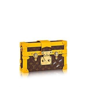 Louis Vuitton Yellow Petite Malle Monogram Bag
