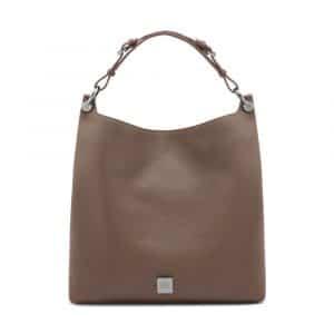 Mulberry Taupe Freya Hobo Bag