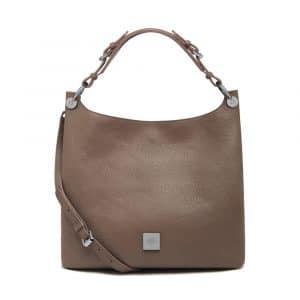 Mulberry Taupe Freya Hobo Small Bag