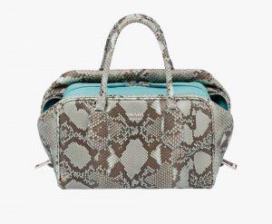 Prada Astral/Anise Python Inside Medium Bag