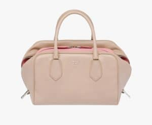 Prada Cameo/Pink Inside Medium Bag