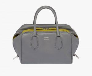 Prada Marble/Sage Green Inside Medium Bag
