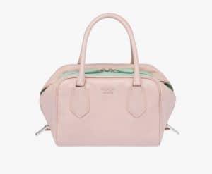 Prada Peach/Aquamarine Inside Small Bag