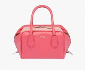Prada Tamaris/Peach Inside Small Bag