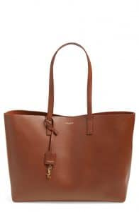 Saint Laurent Brun Shopping Tote Large Bag