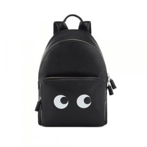 Anya Hindmarch Black Eyes Right Mini Backpack Bag