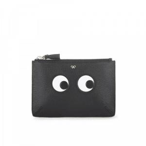 Anya Hindmarch Black Eyes Small Loose Pocket Bag
