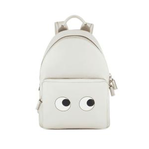 Anya Hindmarch Chalk Eyes Right Mini Backpack Bag