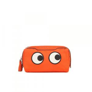 Anya Hindmarch Clementine Nylon Girlie Stuff Eyes Pouch Bag