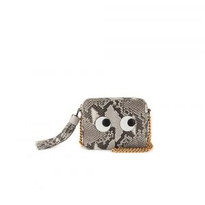 Anya Hindmarch Natural Python Eyes Right Crossbody Bag