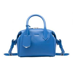 Balenciaga Bleu Roi Infanta Boston Mini Bag