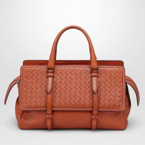 Bottega Veneta Arizona Intrecciato Nappa Monaco Medium Bag