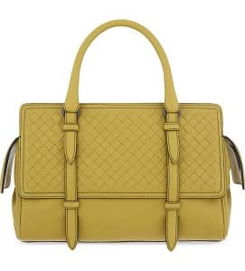 Bottega Veneta Luteous Intrecciato Nappa Monaco Medium Bag