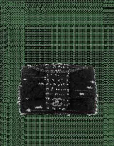 Chanel Black Tweed Elementary Chic Flap Bag