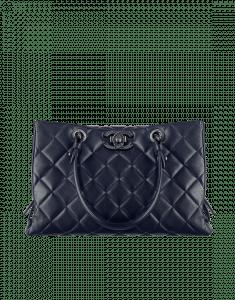 Chanel Blue City Rock Large Shopping Bag