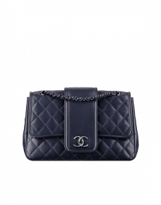 Chanel Blue Elementary Chic Flap Bag