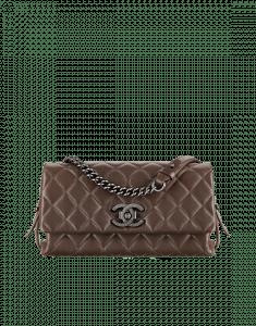 Chanel Brown City Rock Medium Bag