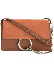 Chloe Brown Faye Small Bag