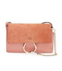 Chloe Faded Rose Faye Small Bag