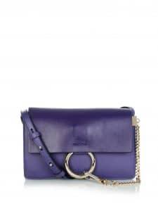 Chloe Indigo Blue Faye Small Bag
