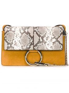 Chloe Yellow Faye Small Bag