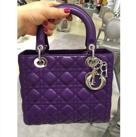 035cc3573ea Lady Dior and Diorissimo Bags from Fall 2015 In Stores | Spotted Fashion