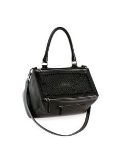 Givenchy Black Studded Pandora Medium Bag